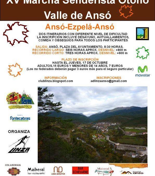 Marcha senderista «Otoño» Valle de Ansó en octubre